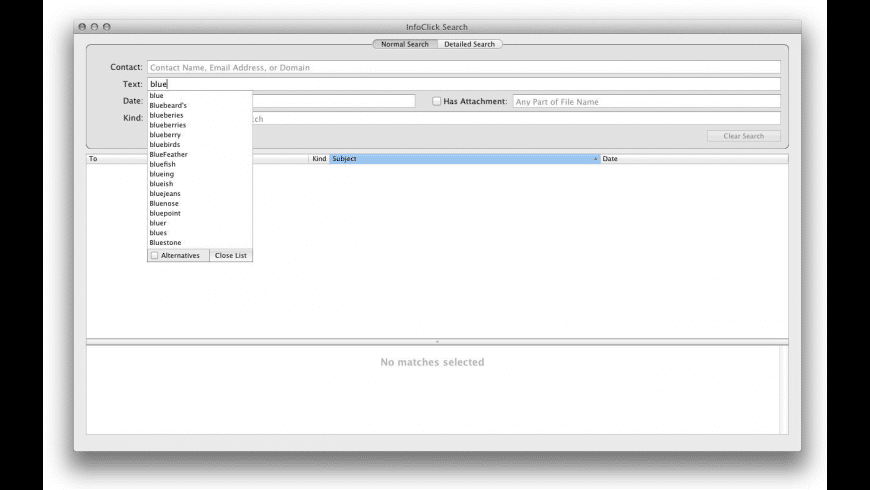 InfoClick for Mac - review, screenshots
