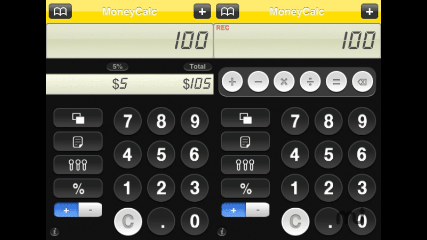 MoneyCalc for Mac - review, screenshots