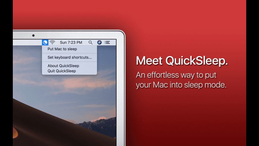 QuickSleep for Mac - review, screenshots