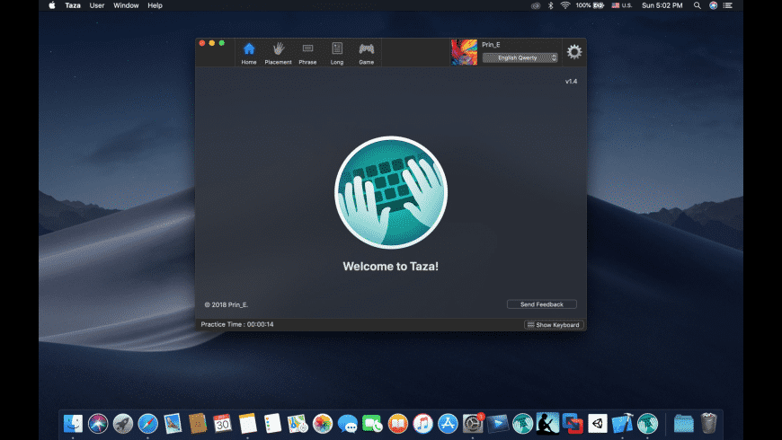 Taza for Mac - review, screenshots
