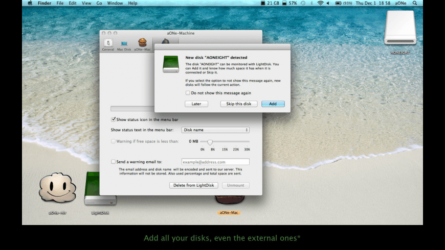 LightDisk for Mac - review, screenshots