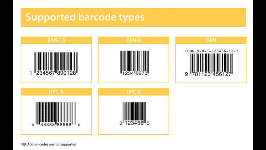 OnScreen Barcode Scanner for Mac - review, screenshots