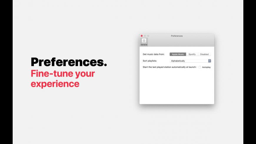 Instaradio for Mac - review, screenshots
