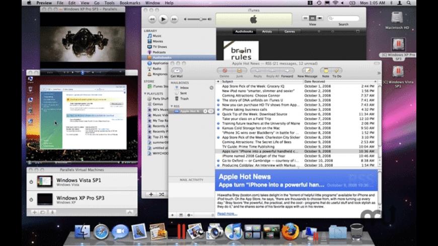 Parallels Desktop 4 Upgrade for Mac - review, screenshots