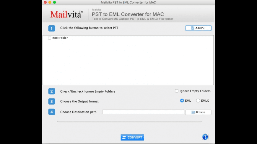 PST to EML Converter for Mac - review, screenshots