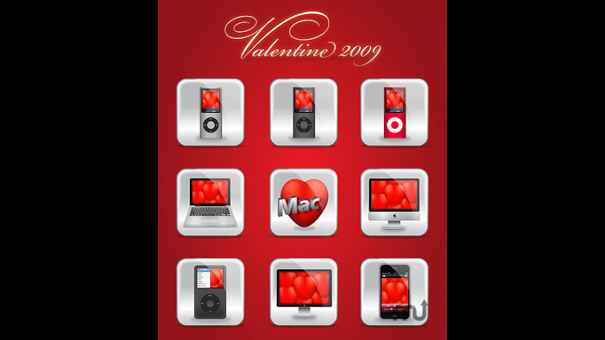 Valentine Icons for Mac - review, screenshots