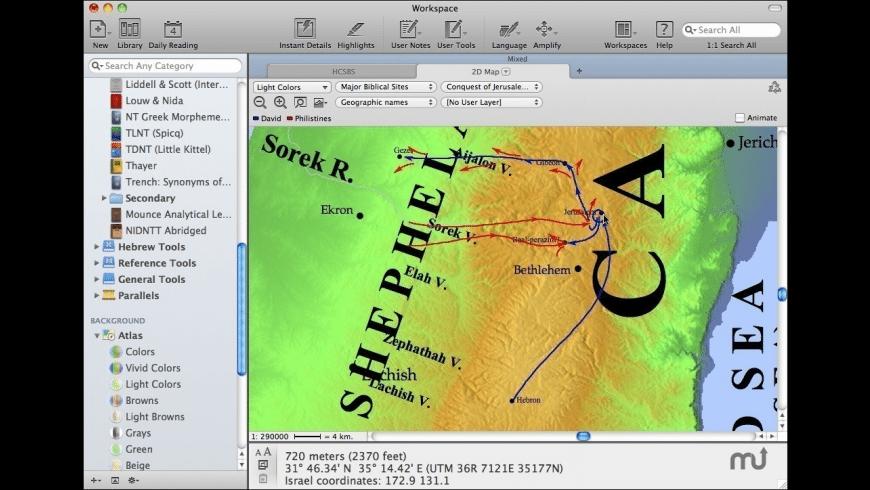 Accordance for Mac - review, screenshots