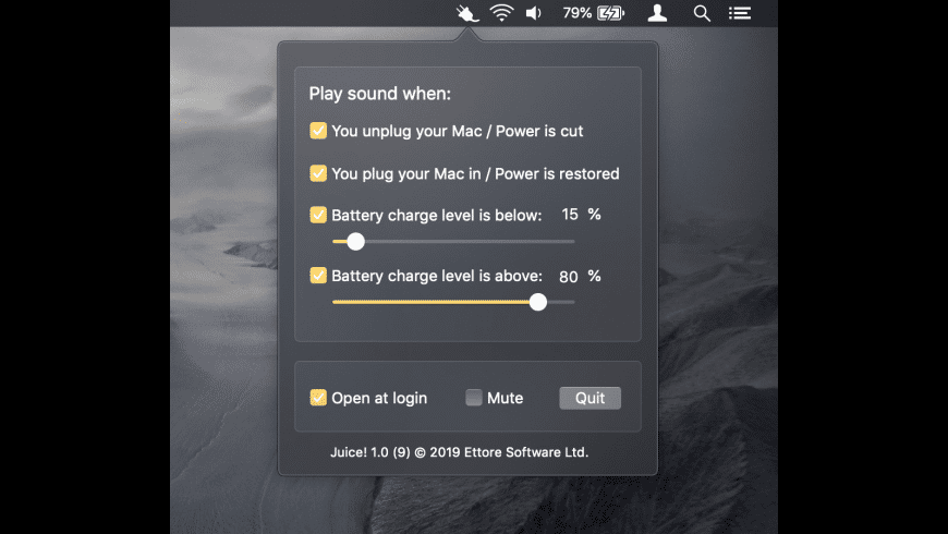 Juice! for Mac - review, screenshots