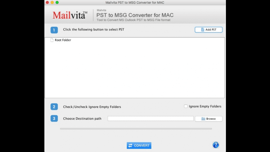 PST to MSG Converter for Mac - review, screenshots