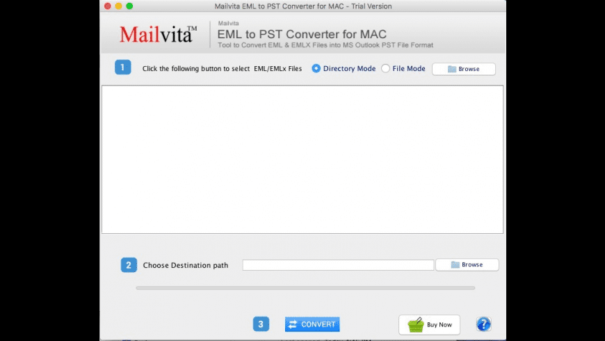EML to PST Converter for Mac - review, screenshots