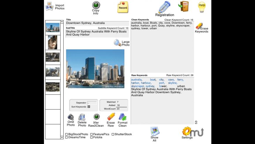 Stock Photo Catalog for Mac - review, screenshots