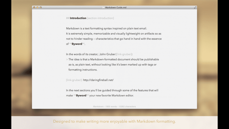 Byword for Mac - review, screenshots