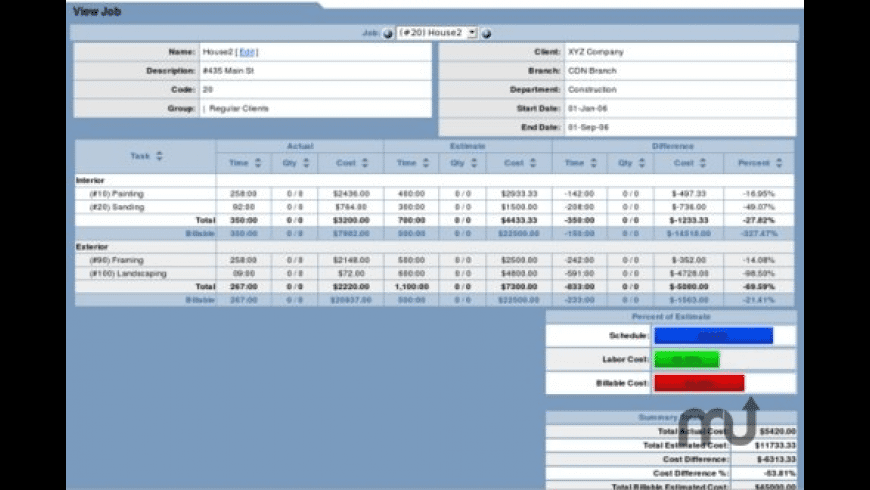 TimeTrex Time and Attendance for Mac - review, screenshots
