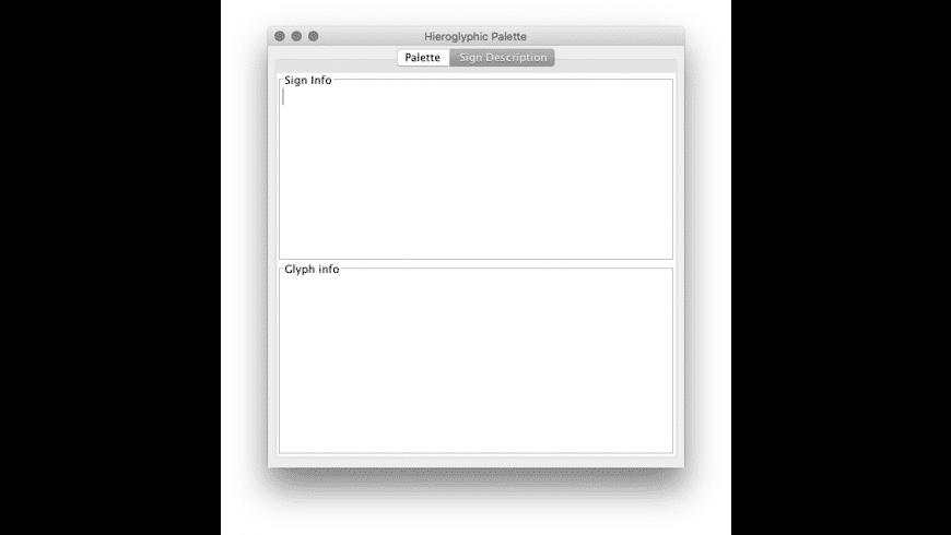 JSesh for Mac - review, screenshots