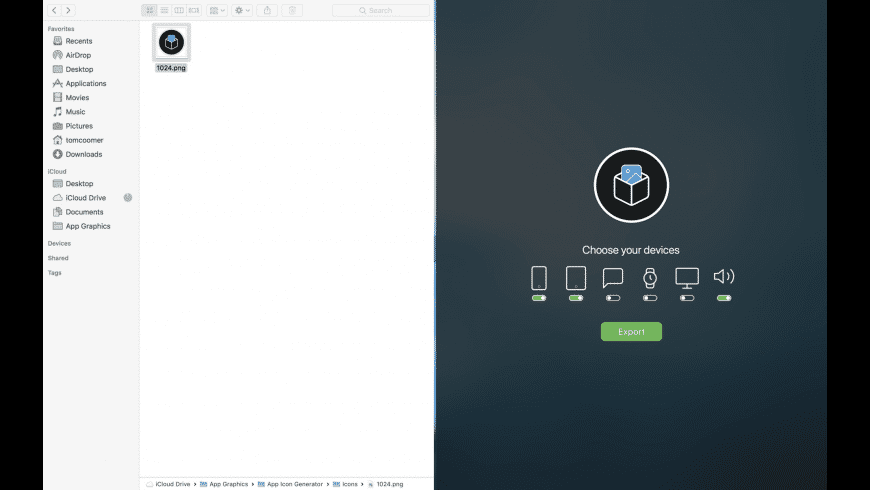 App Icon Generator for Mac - review, screenshots