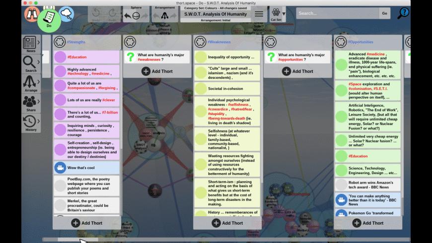 Thortspace for Mac - review, screenshots