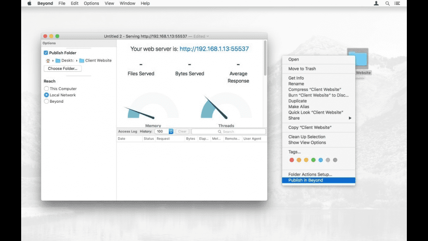 Beyond for Mac - review, screenshots