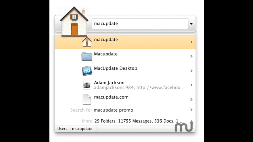 Google Quick Search Box for Mac - review, screenshots