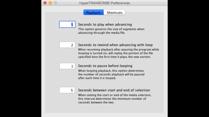 HyperTRANSCRIBE for Mac - review, screenshots