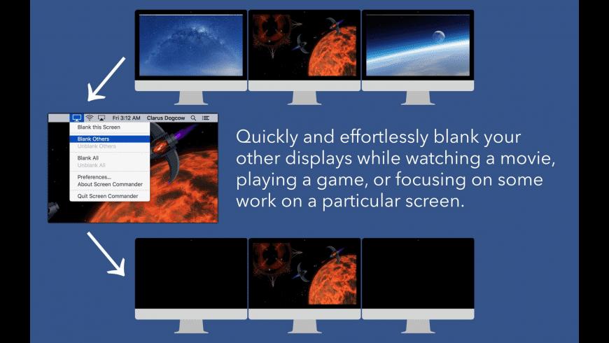 Screen Commander for Mac - review, screenshots