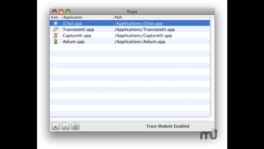 Trust for Mac - review, screenshots