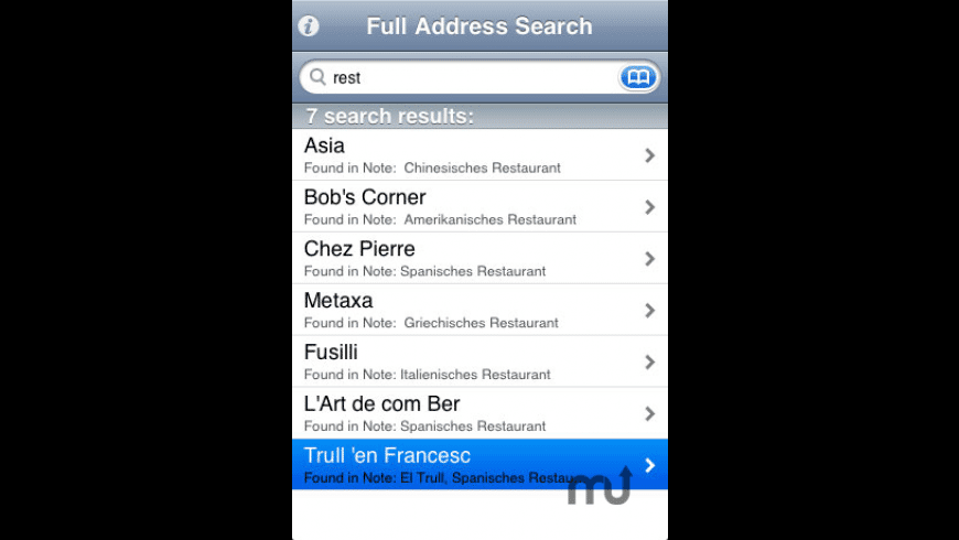 AB Search for Mac - review, screenshots