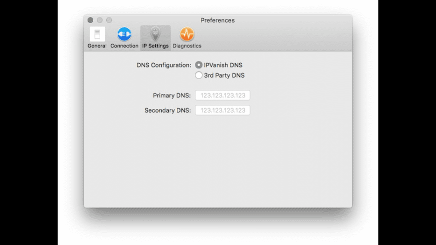 IPVanish for Mac - review, screenshots