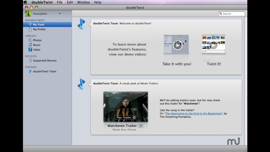 doubleTwist for Mac - review, screenshots