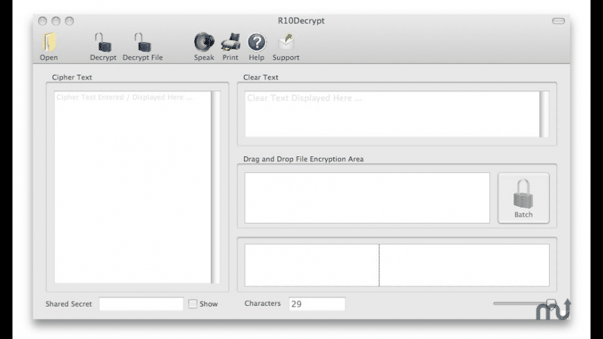 R10Decrypt for Mac - review, screenshots
