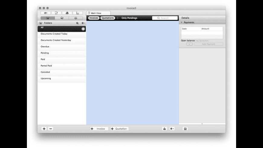 Invoice for Mac - review, screenshots