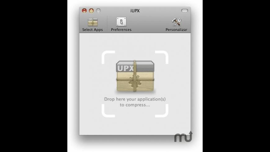 iUPX for Mac - review, screenshots