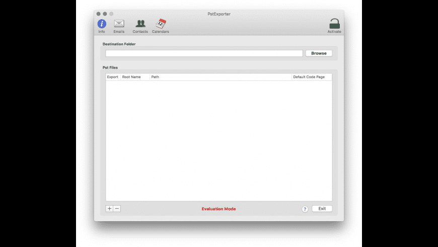 PstExporter for Mac - review, screenshots