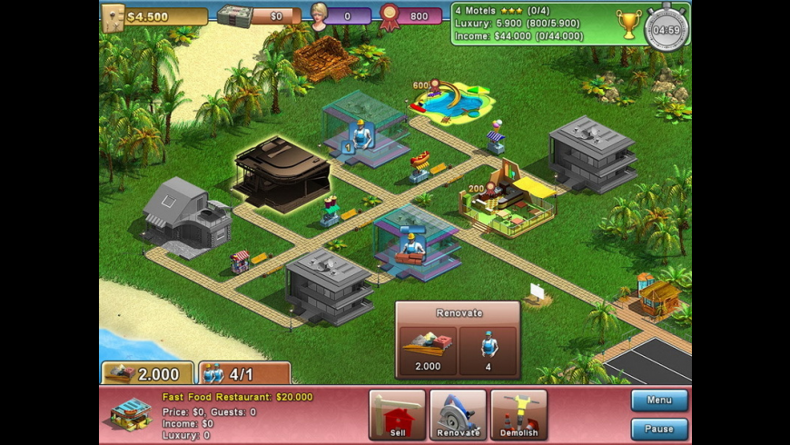 Summer Resort Mogul for Mac - review, screenshots