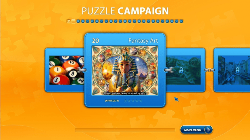 Ravensburger Puzzle for Mac - review, screenshots