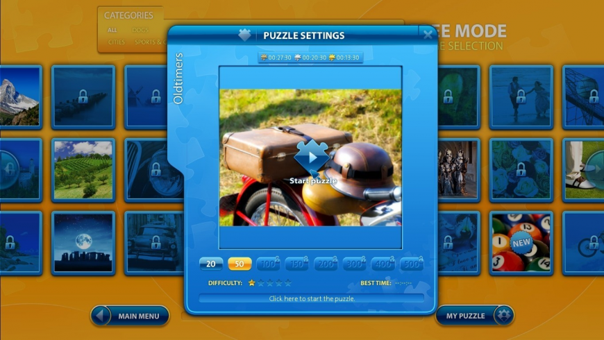 Ravensburger Puzzle for Mac - review, screenshots