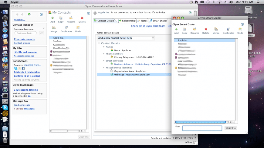 Glynx for Mac - review, screenshots