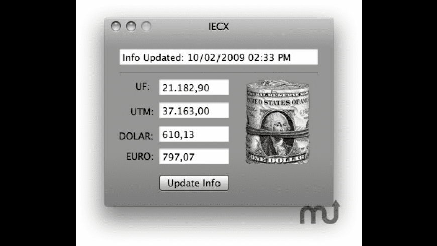 IECX for Mac - review, screenshots