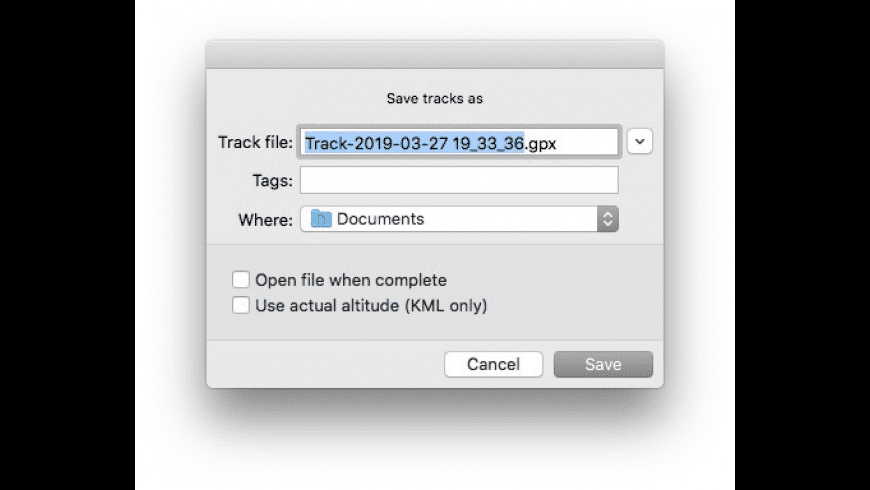 LoadMyTracks for Mac - review, screenshots