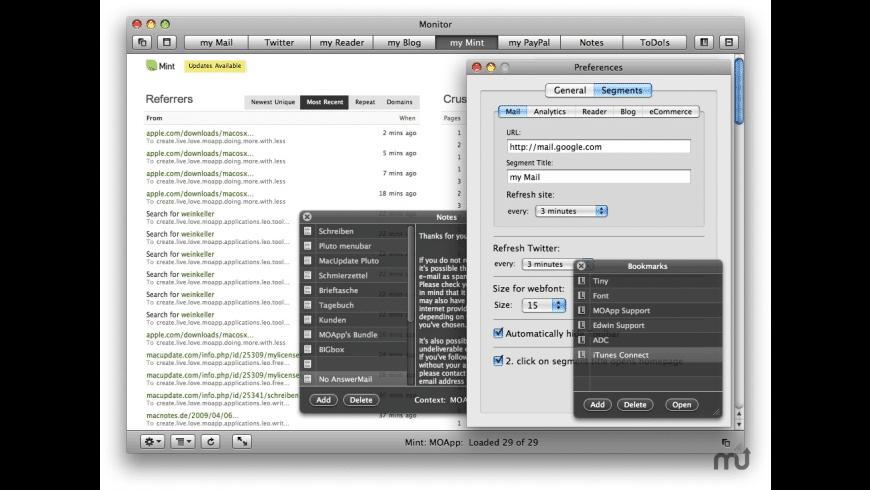 Monitor for Mac - review, screenshots