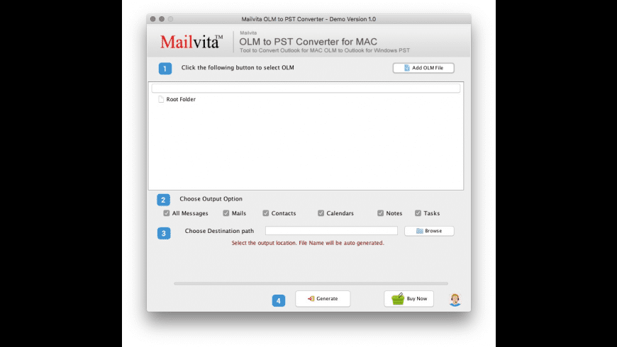 OLM to PST Converter for Mac - review, screenshots