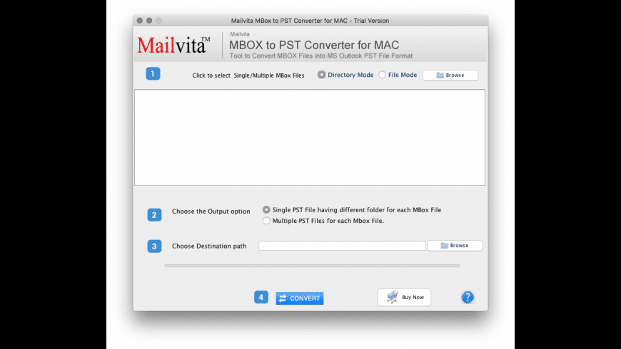 MBOX to PST Converter for Mac - review, screenshots