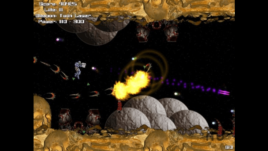 Laserface Jones vs Doomsday Odious for Mac - review, screenshots