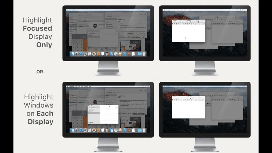 HazeOver for Mac - review, screenshots