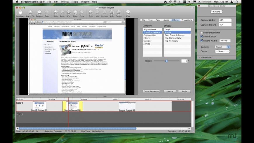 ScreenRecord Studio for Mac - review, screenshots