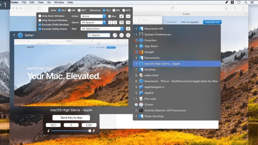 1Piece for Mac - review, screenshots