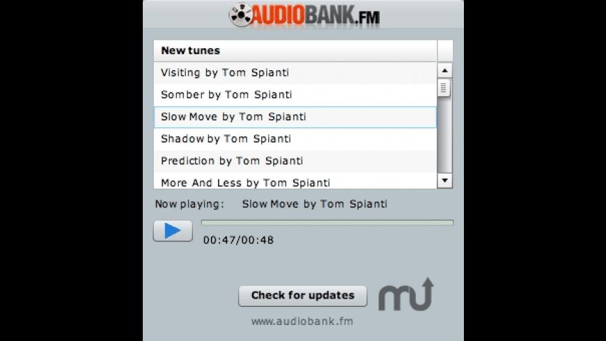 AudioBank Player for Mac - review, screenshots