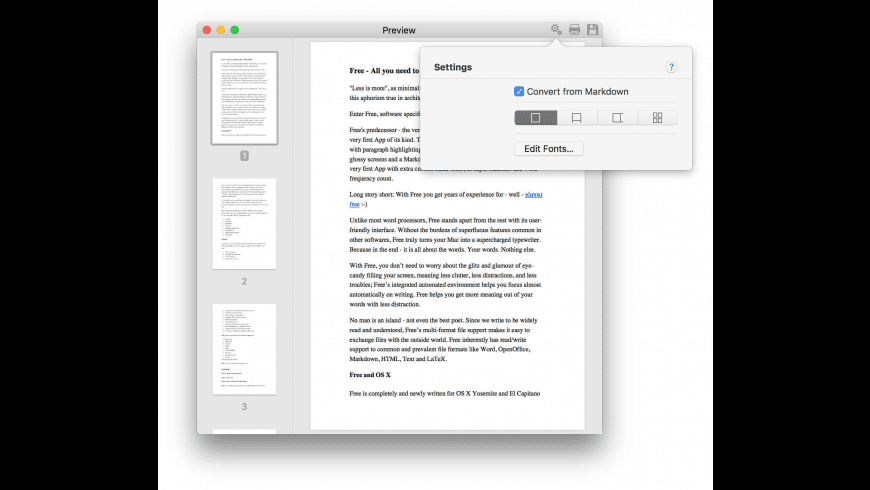 Free for Mac - review, screenshots