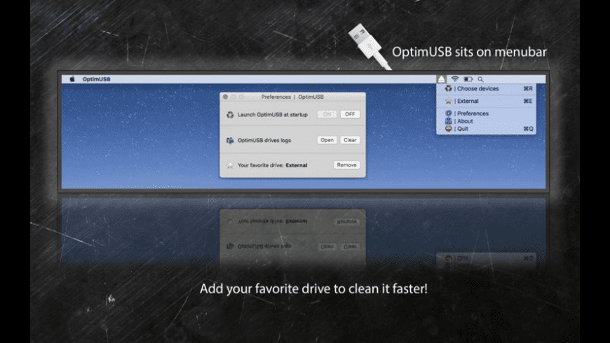 OptimUSB for Mac - review, screenshots
