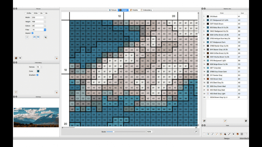 Stitch Designer for Mac - review, screenshots