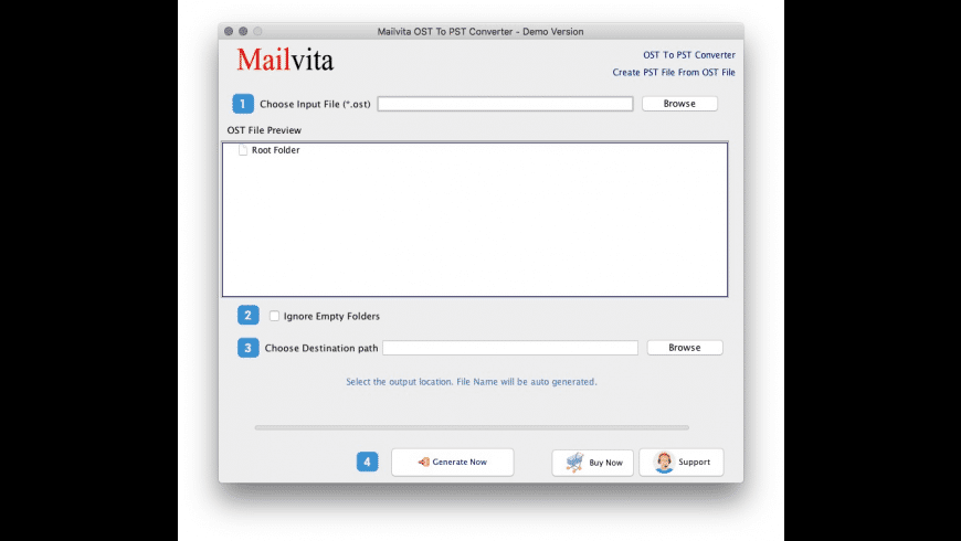 OST to PST Converter for Mac for Mac - review, screenshots